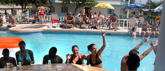 Travellers Beach Resort Negril jamaica best spring break hotel