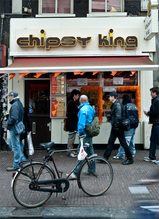 chipsy king frites amsterdam netherlands