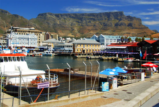cape town south africa v and a waterfront