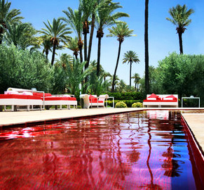 Murano Resort Morocco marrakesh red pool