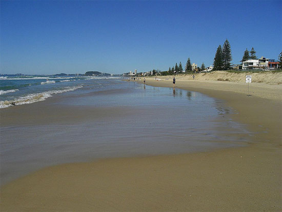 australia brisbane mermaid Beach Gold Coast