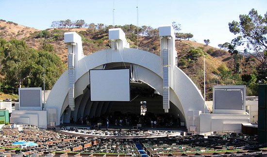 california los angeles hollywood bowl