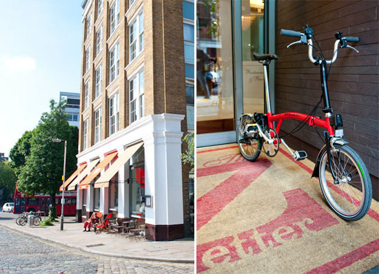 the zetter boutique hotel clerkenwell london england uk visitbritain