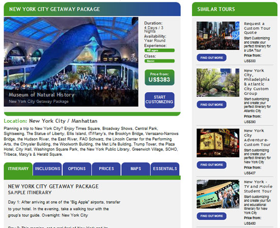 New York City Getaway Package for Groups