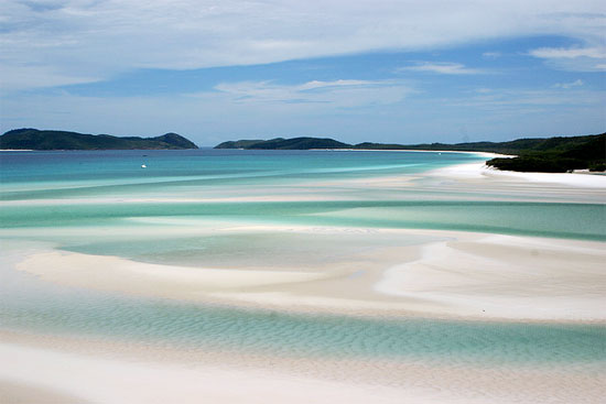 australia whitsunday islands whitehaven beach