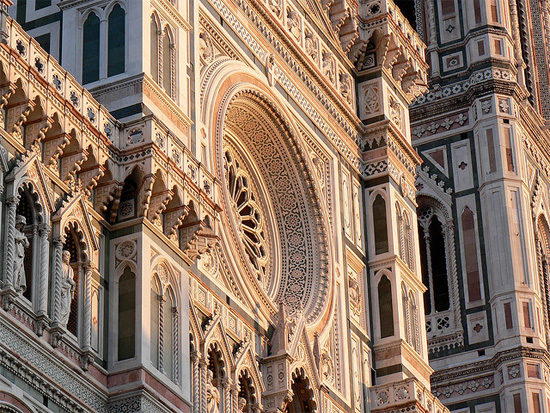 italy florence Il Duomo at sunset