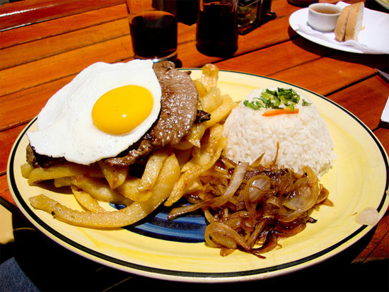 santiago chile foodies food Lomo a lo pobre