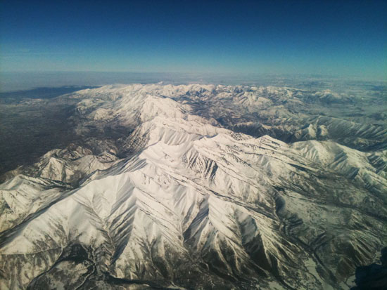 provo utah snow mountains