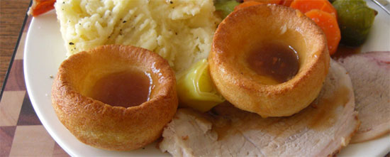britain foodie Yorkshire Pudding