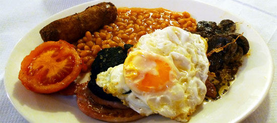 britain foodie fry up