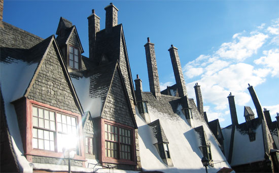 harry potter world orlando Hogsmeade