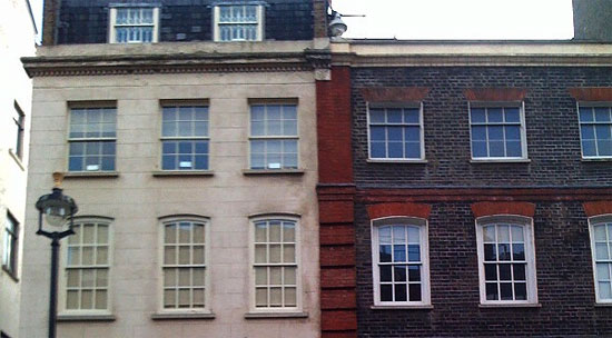 jimi hendrix home 23 Brook Street Mayfair london