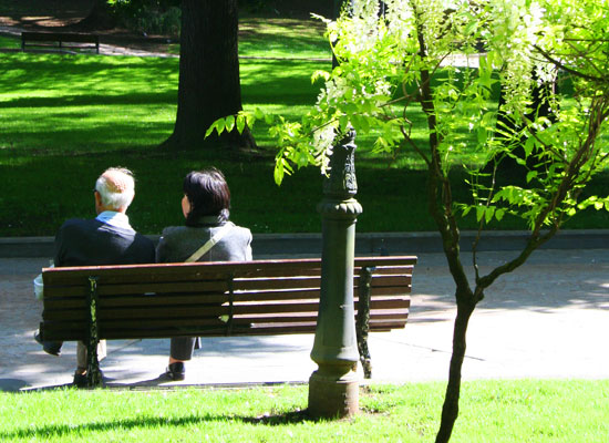 oviedo spain san francisco park couple