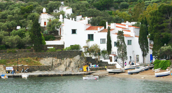 costa brava spain catalonia portlligat dali house