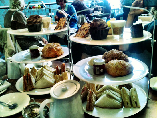 Traditional Afternoon Tea in Glasgow's West End
