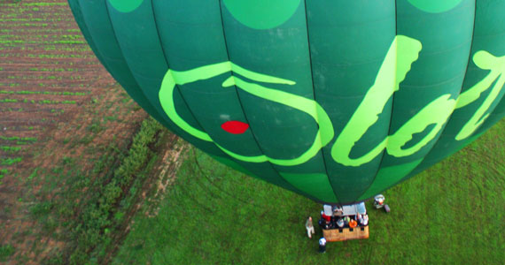 #InPyrenees-lift-off-hot-air-balloon